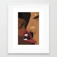 erotic Framed Art Prints featuring Erotic by Corijaye
