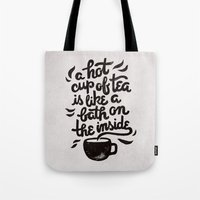 Hot Tea Tote Bag