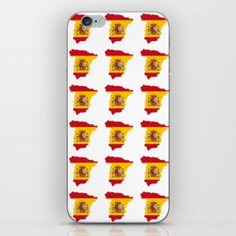 Flag of spain 3-spain,espana, spanish,plus ultra,espanol,Castellano,Madrid,Barcelona iPhone Skin