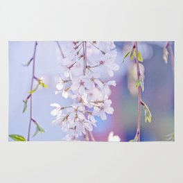 Weeping Cherry Blossom Rug