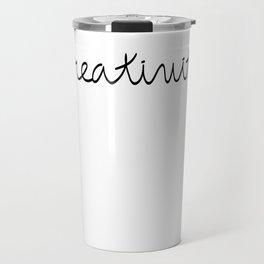 Creativity Travel Mug