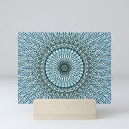 Geometric Mandala c14188 Mini Art Print