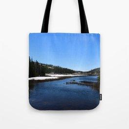 Snake River In June 2017 Tote Bag