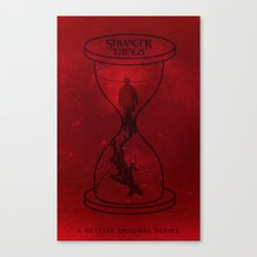 Stranger Things poster Canvas Print