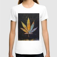 cannabis T-shirts featuring Cannabis by Michael Creese
