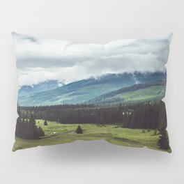 Mountain Trail - Landscape and Nature Photography Pillow Sham
