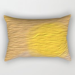 Blazing Bright Sunlight Rectangular Pillow