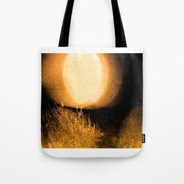 Dark Night Amber Tote Bag