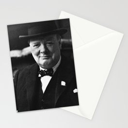 Winston Churchill Stationery Cards