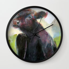 Wise Bull Wall Clock