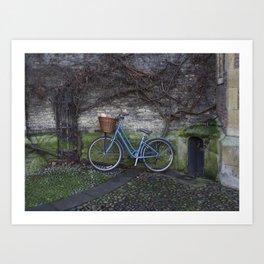 Bike Ride Through England Art Print