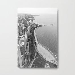 Lakeshore Drive Metal Print