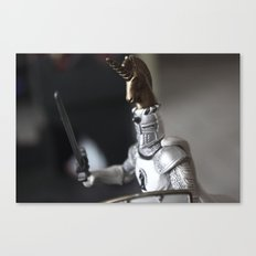 The plastic soldiers Canvas Print