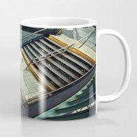 subway Mugs featuring Subway by Sascha Selli