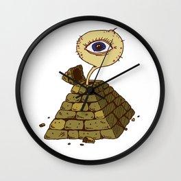 eye in the pyramid! Wall Clock