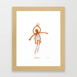 The Durantula Framed Art Print