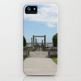 Ferry Dock To Bear Island iPhone Case