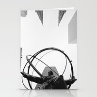 atlas Stationery Cards featuring Atlas by Evan Morris Cohen