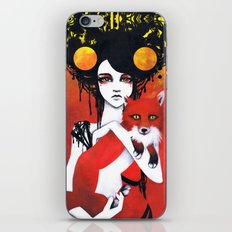 Fauna Goddess of Animals iPhone Skin