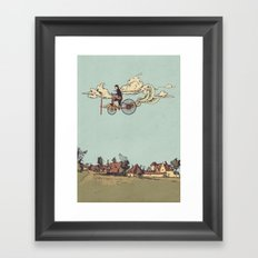 Steam FLY Framed Art Print