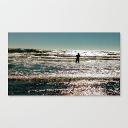 Searching for the words Canvas Print