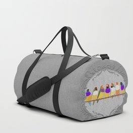 Lady Gouldian Finches Duffle Bag