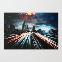 Lights and Stars Canvas Print