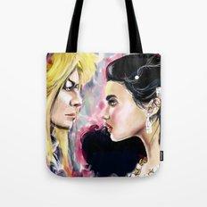 Jareth and Sarah Tote Bag
