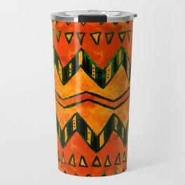 Aztec Ethnic Pattern Art N16 Travel Mug