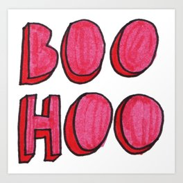 BooHoo Art Print