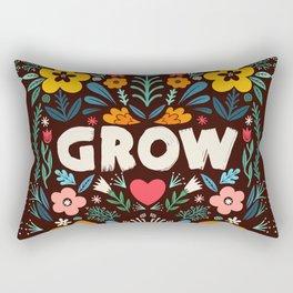 GROW floral Rectangular Pillow
