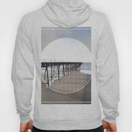 Victorian Pier - circle graphic Hoody