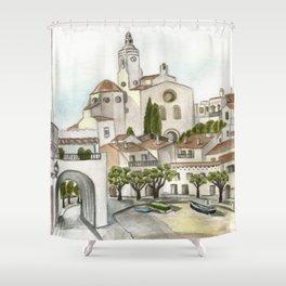 Cadaques 2 Shower Curtain
