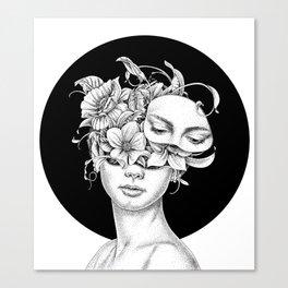 Flower Girl 6 Canvas Print
