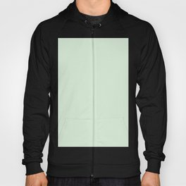 Light Subtle Pastel Green - Solid Plain Block Colours - Spring / Grass / Easter Colors / Neutral Tones / Earth Hoody