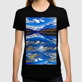 A CLOUDY DAY AT LAKE MCDONALD T-shirt