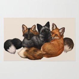 Fox Trio Rug