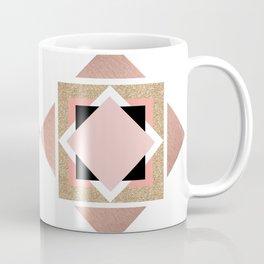 Carré rose Coffee Mug