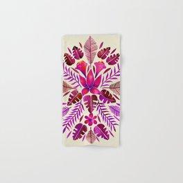 Tropical Symmetry – Magenta Hand & Bath Towel