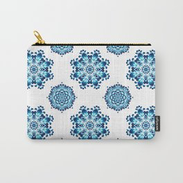 Round colorful mandala seamless pattern Carry-All Pouch