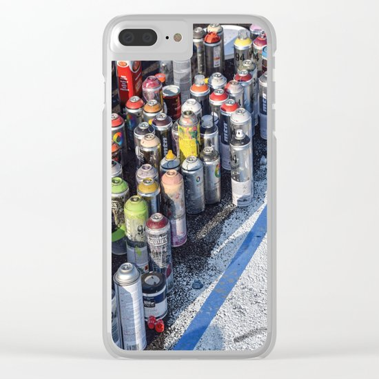 An Artist's Tools Clear iPhone Case
