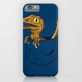Pocket Raptor (Jurassic Park Velociraptor) iPhone Case