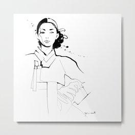 Ethnic Beauty - Korea Metal Print