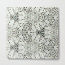 openwork ornament Metal Print