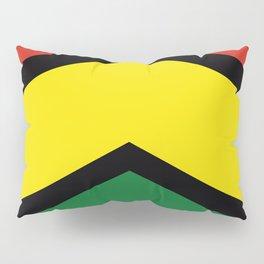 Chevron Bolivia Flag Colors Pillow Sham