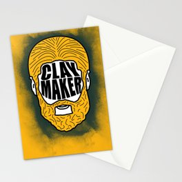 """Clay Matthews """"Clay Maker"""" Stationery Cards"""