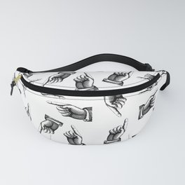 Pointing finger pattern Fanny Pack