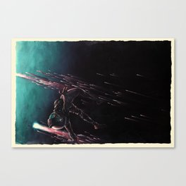 Bodies in Space: Coming Home Canvas Print