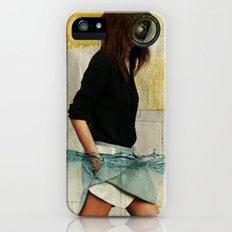 Deep Water Running iPhone (5, 5s) Slim Case