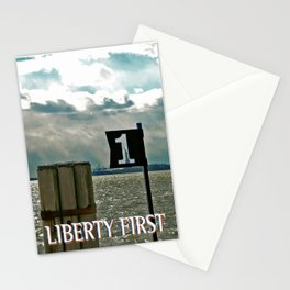 LIBERTY FIRST - High Stationery Cards